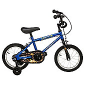 "Urban Racers Lightning 14"" Kids' Bike with Stabilisers"