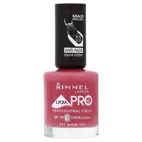 Rimmel Lycra Pro Nail Polish Show Off