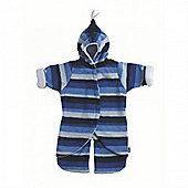 Buggy Snuggle Babysnug Split Leg (Blue Stripe 0-6 months)