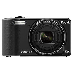 "Kodak Pix Pro FZ151 Digital Camera, Black, 16MP, 15x Optical Zoom 3"" LCD Screen"