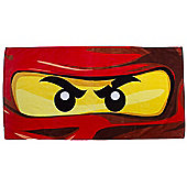 Lego Ninjago 'Eyes' Printed Beach Towel