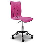 Hispanohogar Office Chair - Pink