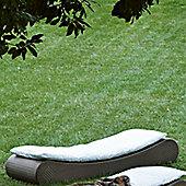 Varaschin Varaschin Outdoor Pisolo Day Bed Frame (Set of 2) - Dark Brown - Piper Canvas
