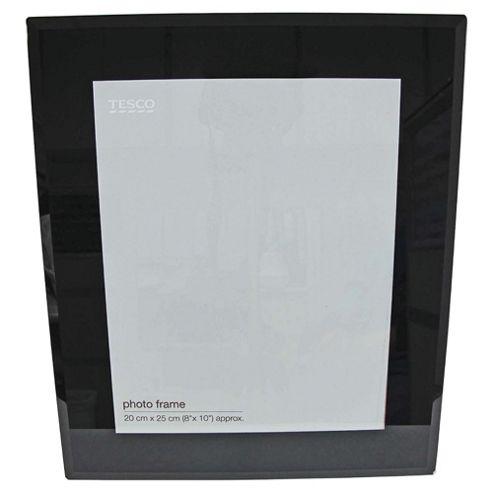 Tesco glass photo frame black 8x10
