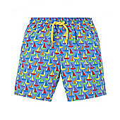 Boat Print Swimming Shorts - Multi