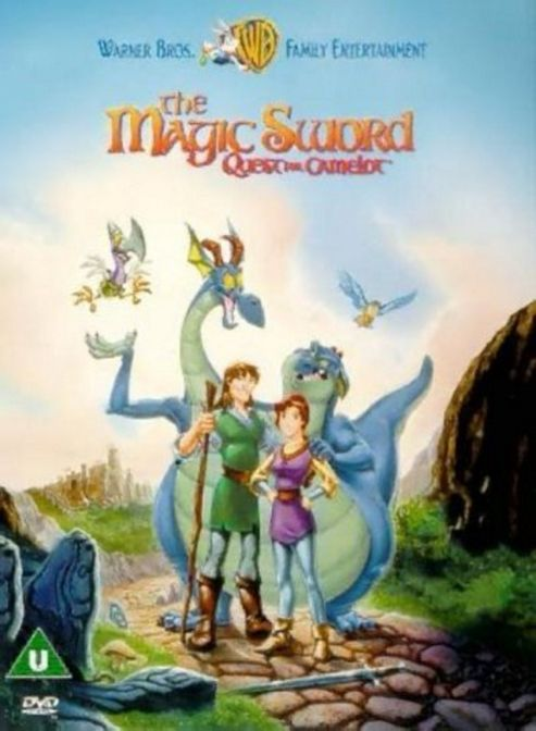 The Magic Sword Quest For Camelot (DVD)