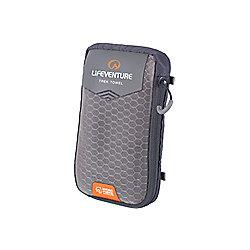 Lifeventure HydroFibre Trek Towel Pocket Grey