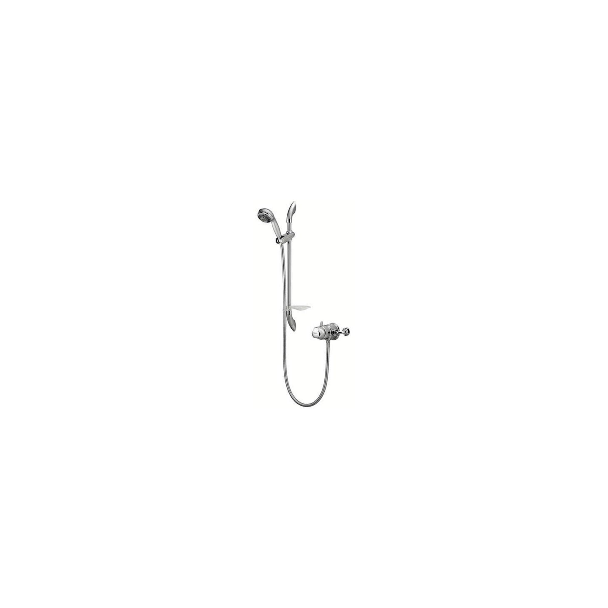 Aqualisa Aquavalve 700 Exposed Shower Valve with Adjustable Shower Head Chrome at Tesco Direct