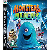Monsters Vs Aliens - PS3