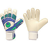 Uhlsport Eliminator Handbett Soft Junior Goalkeeper Gloves - White