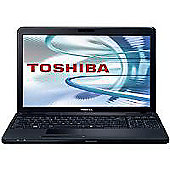 "Toshiba C660 19X Laptop (E300, 2GB, 320GB, 15.6"" Display) Black"