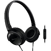 Pioneer Semj502T Headphones With Microphone (Black)
