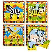 Bigjigs Toys BJ381 My First Safari Puzzles