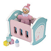 Rosebud Village House Nursery Room Set
