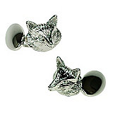 Fox Head Novelty Themed Chainlink Cufflinks