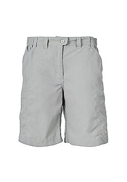 Trespass Ladies Ayla Active Shorts - Light grey