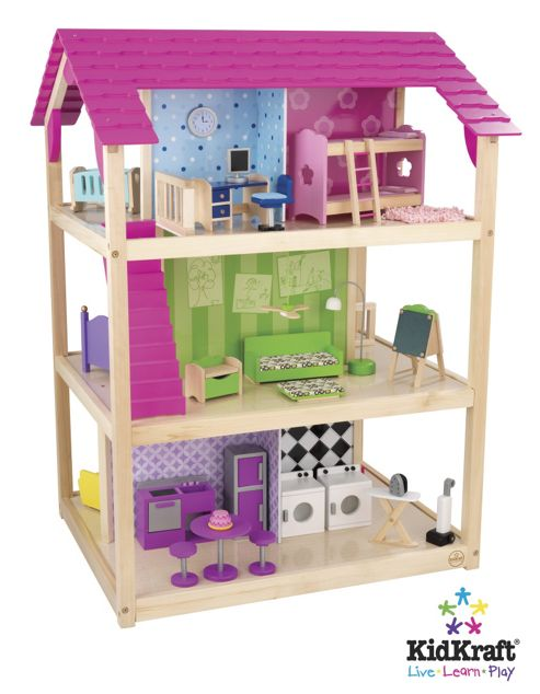 KidKraft 50 Piece So Chic Dollhouse