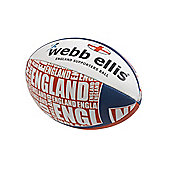 Webb Ellis England Supporters Ball size 5