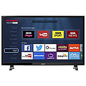Sharp 43 Inch LC-43CFF6001K FHD Smart LED TV with Freeview HD