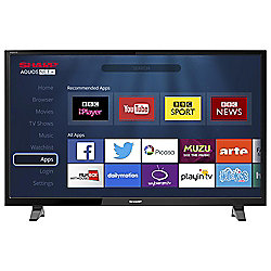 Sharp LC-43CFF6001K Smart Full HD 43 Inch LED TV with Freeview HD