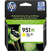 HP 951XL High Yield Yellow Original Ink Cartridge CN048AE#BGX 1500 Pages