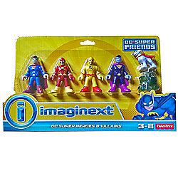 Fisher Price - Imaginext - DC Super Friends - DC Super Heroes & Villains pack