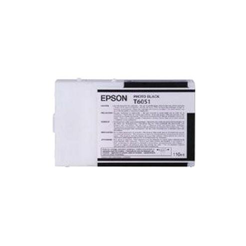Epson T6051 Ink Cartridge Photo Black (110ml) for Epson Stylus Pro 4800/4880