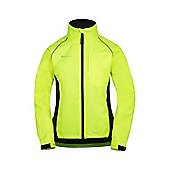 Adrenaline WomensRunning Cycling Sport Jpogging Iso-Viz Jacket Coat - Yellow