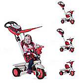 Smart Trike Dream 4-in-1 Trike- Red