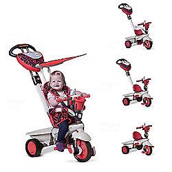Smart Trike Dream 4-in-1 Trike- Red