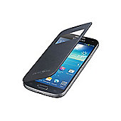 Samsung Original Galaxy S4 Mini S-View Cover Black