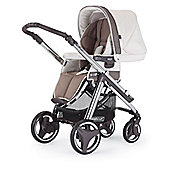 Ipop Evolution Pushchair Chrome/Brown Chassis Cream Whisper