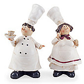 Lucy & Leonard the Fat Chef Home Kitchen Ornaments