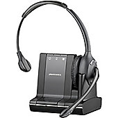 Plantronics Savi W710-M Wireless DECT Mono Headset - Over-the-head - Supra-aural