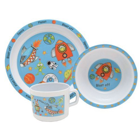 Rayware 0014.124 Into Space Melamine Set 3Pce