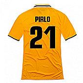 2013-14 Juventus Away Shirt (Pirlo 21) - Yellow