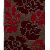 Oriental Carpets & Rugs Hong Kong 33L Brown/Red Rug - 120cm x 170cm