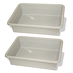 Bigjigs Rail Train Table Drawer (Grey) (Pack of 2)