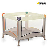 Hauck Dream N Play Square Travel Cot, Beige