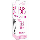 Pretty BB Cream All In One Blemish Balm 50ml -Medium