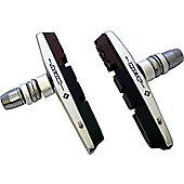 Acor Cartridge V-Brake Pads: Silver/Triple Compound