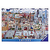 Ravensburger London - London Skyline, 1000 Piece Puzzle