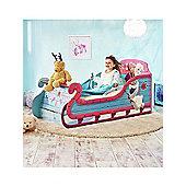 Disney Frozen Sleigh Toddler Bed with Underbed Storage