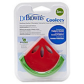 Dr Brown's Watermelon 'Coolees' Shape Teether