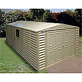 10ft x 21ft Plastic Pvc Garage With Steel Frame (3.22m x 6.38m)
