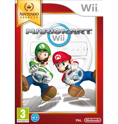 Mario Kart Without Wheel (Wii)