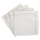 Tesco Napkins Stone, 4 Pack