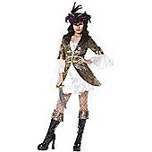Female Pirate Outfit Medium
