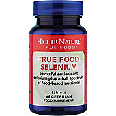 Higher Nature True Food Selenium 200Ug 60 Veg Tablets