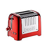 Dualit 26211 2 Slot High Gloss Lite Toaster - Red